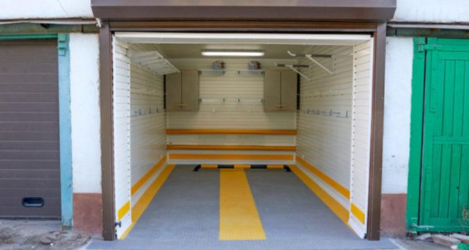 Как снять идеальный гараж