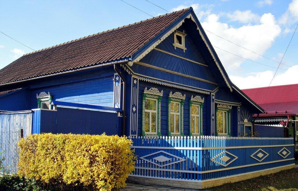это время как покрасить деревенский дом картинки творогом