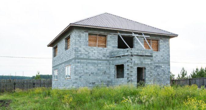 Как продать недостроенный дом с земельным участком